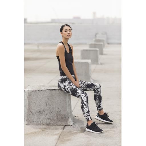 Ladies Reversible Workout Leggings