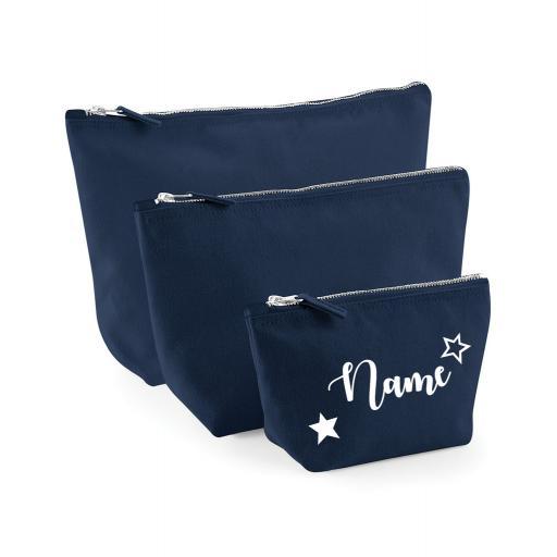Canvas Make Up/Accessory Bag
