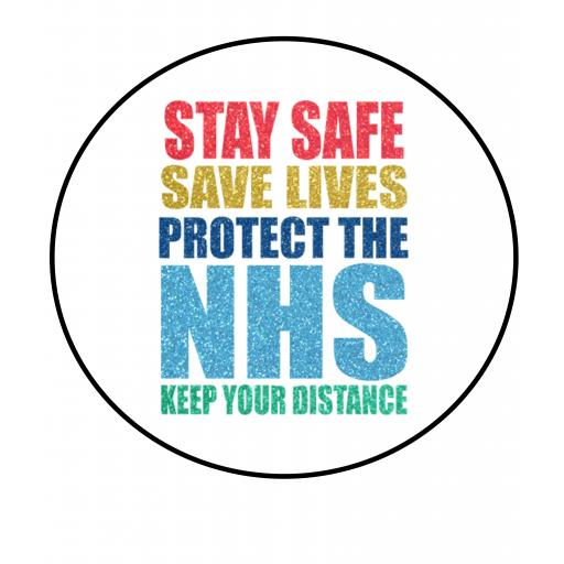 Stay Safe Badge
